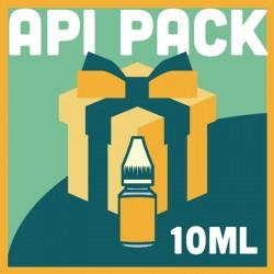 Api Pack   Flacons d'eliquide en 10ml x30